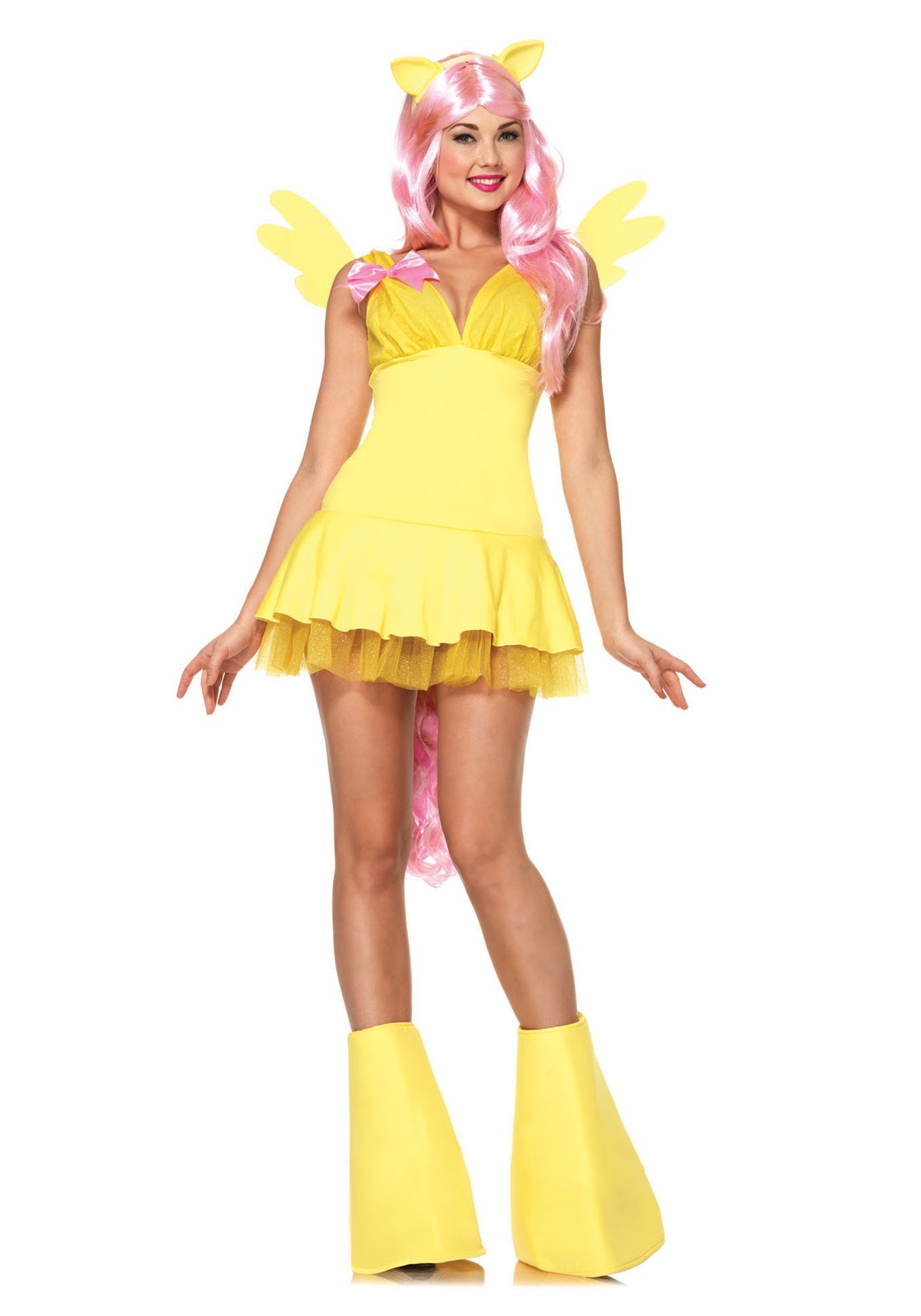 More Adult Costumes: Fluttershy, Pinkie Pie, Rainbow Dash and Twilight Sparkle - MLP Merch