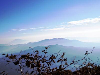 Pemandangan dari Gunung Cikuray