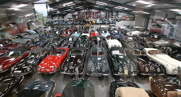 Jaguar le ha comprado 543 autos a un coleccionista de Jaguars