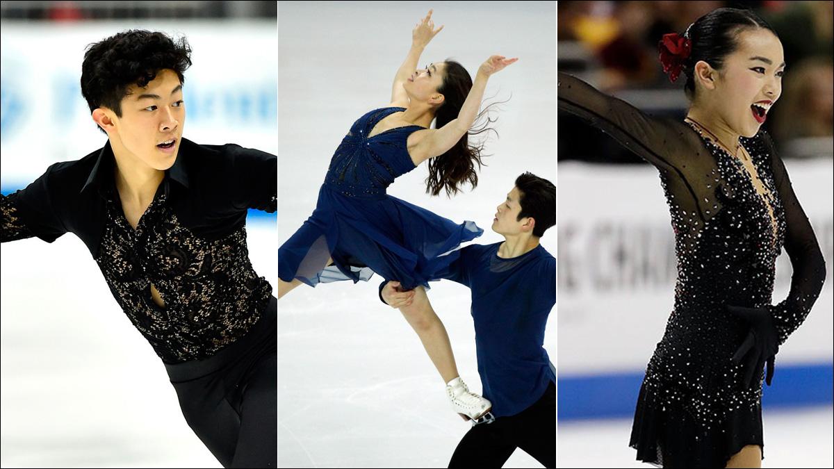 Asian Americans dominate at U.S. Figure Skating Championships