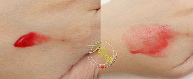 a swatch photo of Pixi by Petra Sheer Cheek Gel in Rosy