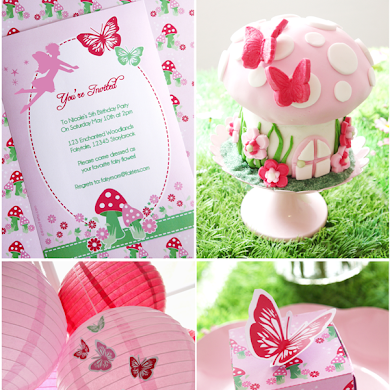 A Pink Pixie Fairy Birthday Party