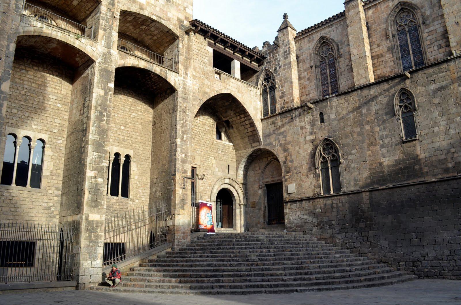 La capilla real de santa gata las piedras de barcelona - Colegio arquitectos barcelona ...
