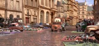 pixar cars mattel justin partson screenshot