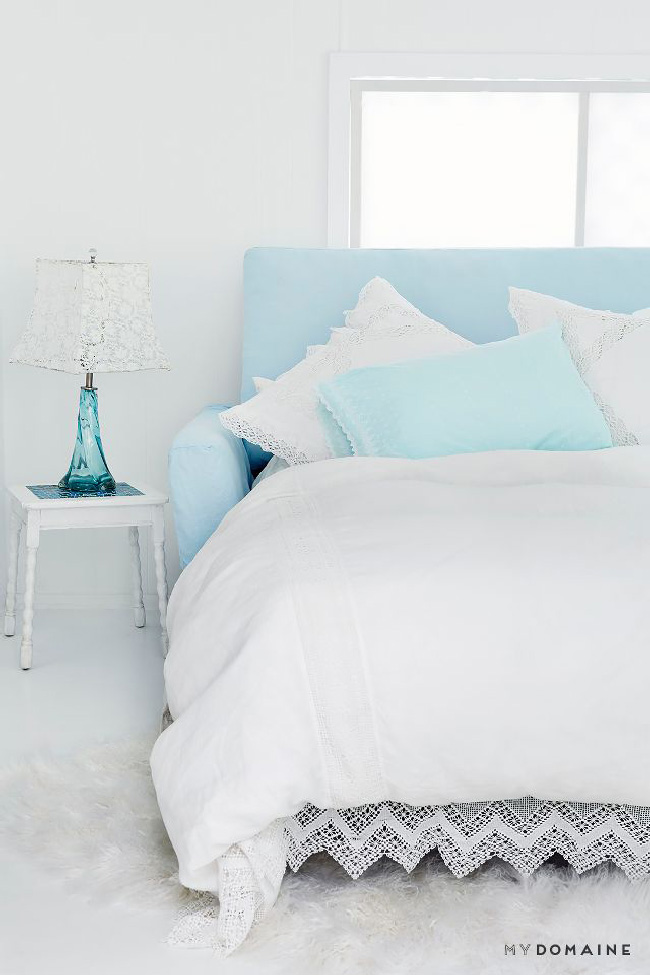 Arredare piccoli spazi: la mobilhome shabby chic di Rachel Ashwell divano letto