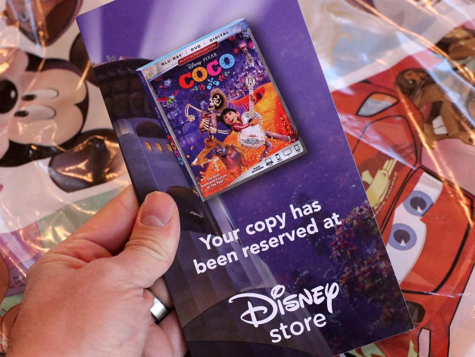 pixar disney store coco lithograph set
