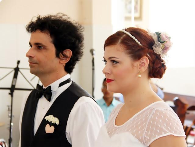 casamento vintage de dia