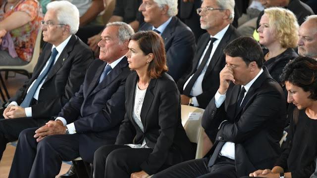 Italia rinde homenaje a las víctimas del devastador terremoto