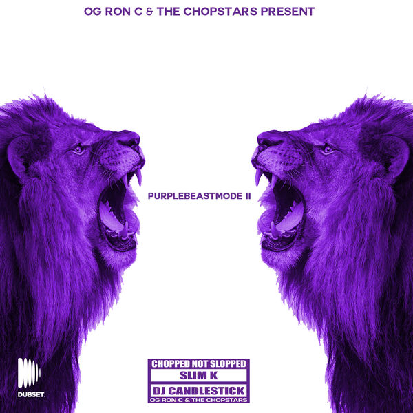 OG Ron C - Purple Beast Mode II Chopped Not Slopped (DJ Mix) Cover