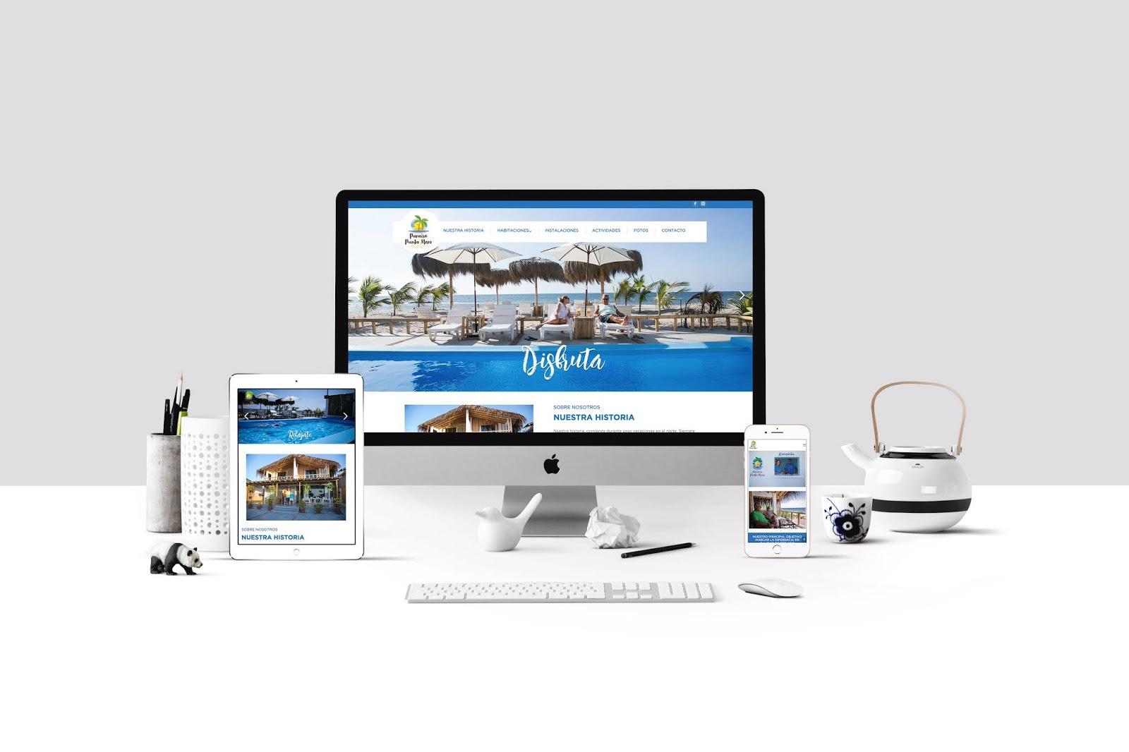 Diseño Web Paraíso Punta mero