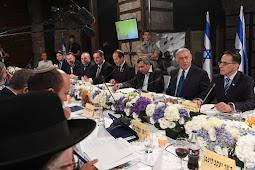 Governo de Israel faz reunião nos túneis do Muro das Lamentações