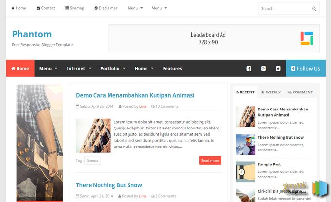 Free Blogger Templates Daily Updates | DheTemplate com