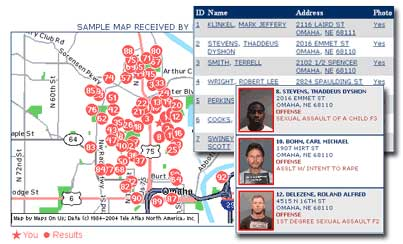 Opinion Sex offenders in my area map