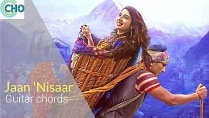 JAAN NISAAR Guitar chords Accurate | Arijit Singh | Kedarnath