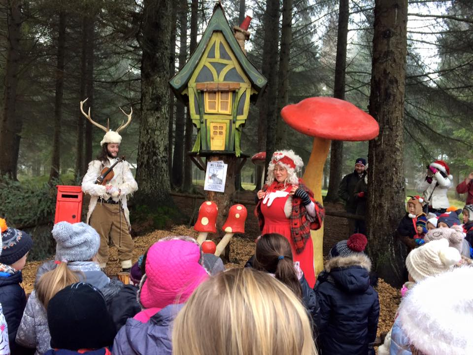 10 of the Best UK Christmas Breaks for Families 2018  - Kielder Winter Wonderland