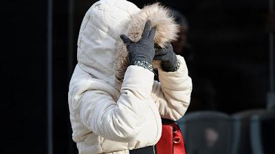 fagy, extrém időjárás, Lengyelország, Katowice