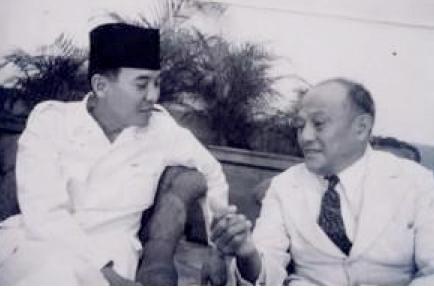 Soekarno dan Sam Ratulangi