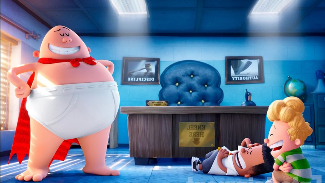 Captain Underpants The First Epic Movie Film Review