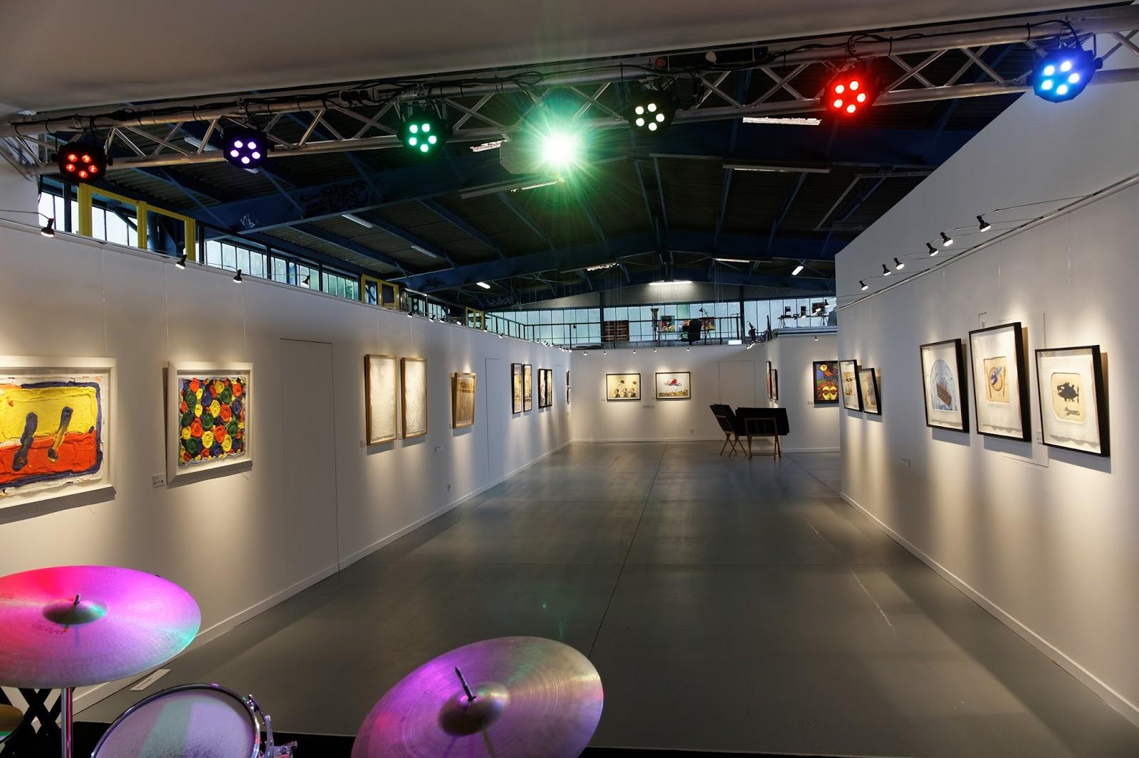 l 39 estampe galerie d 39 art et dtieur collection lacan atelier ouvert ap ritif jazz. Black Bedroom Furniture Sets. Home Design Ideas