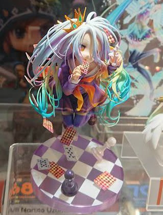 "Preview de Shiro de ""No Game no Life"" en el gamescon 2017 - Good Smile Company."