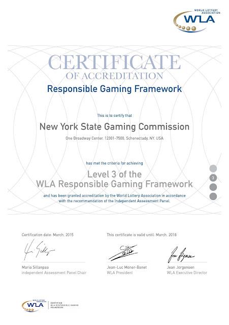 Certificate of trust online casino look like that