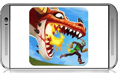 تنزيل لعبة التنين الجائع Hungry Dragon 1.33 Full Apk مهكرة للاندرويد أحدث إصدار
