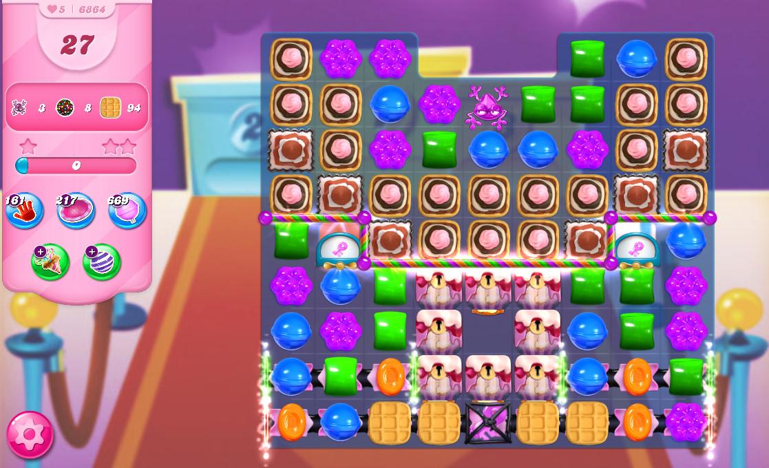 Candy Crush Saga level 6864