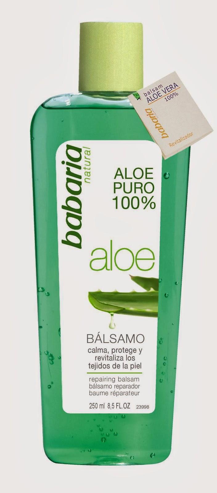 Bálsamo reparador de Aloe Babaria - Cosmética que Sí Funciona
