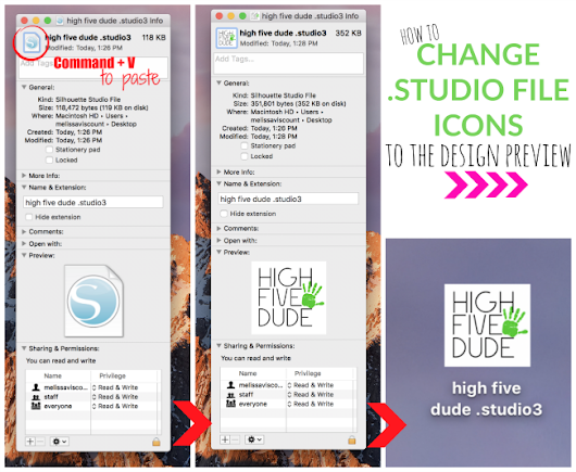 How to Change Silhouette Studio File Preview Icons