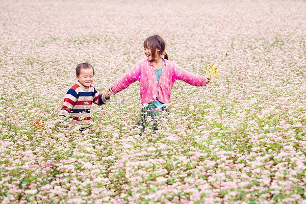 Du khach se duoc hoa minh vao mot khong gian ngap tran sac hoa