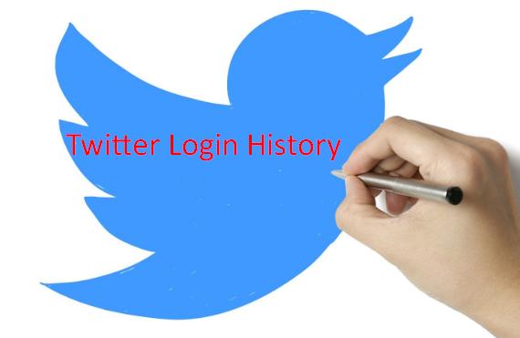 Twitter Login History