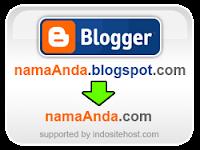 HARGA PROMO merubah blogspot menjadi dot COM