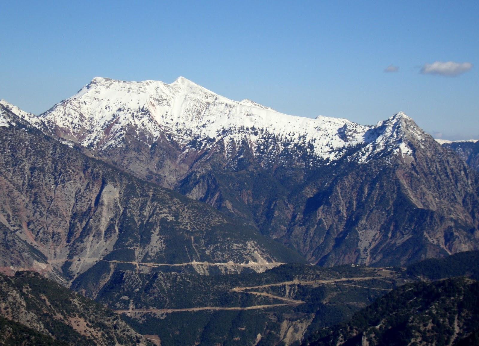 Χελιδόνα βουνό ευρυτανίας