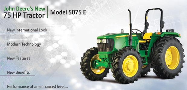 John Deere 5075e Tractor Price Specifications Features