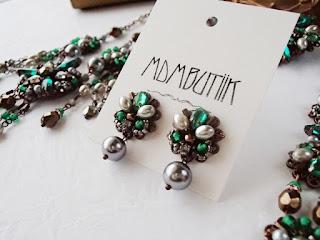vintage style rhinestone jewelry, jewellery, green jewelry, gift ideas