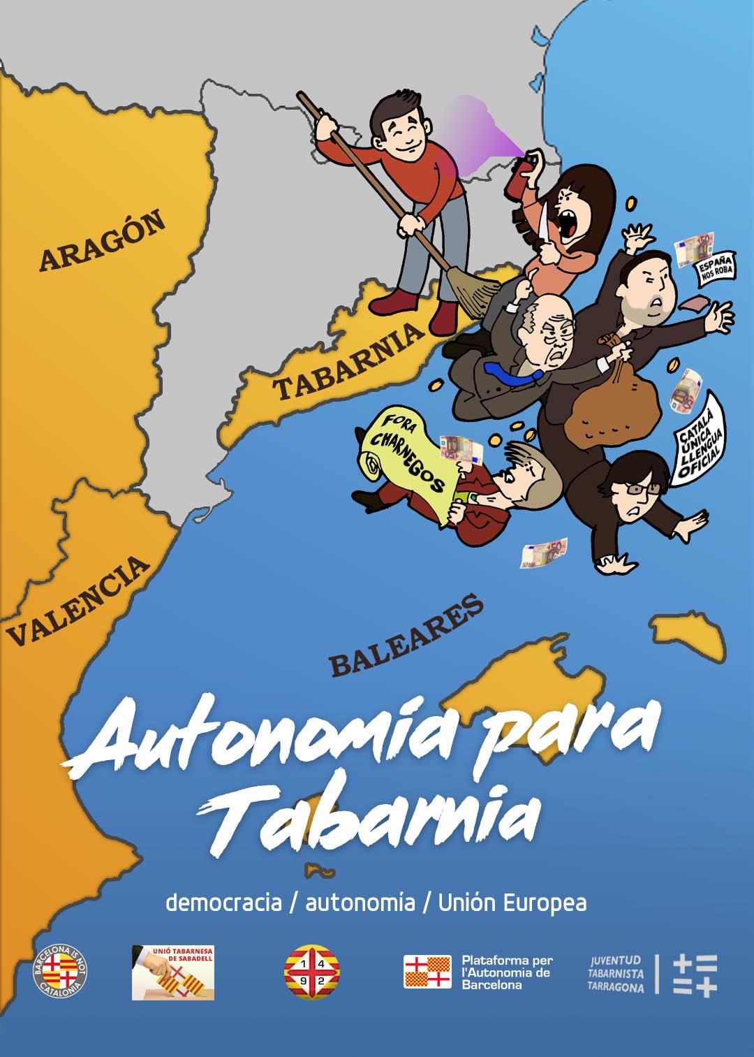 'TABARNIA' PONE DE LOS NERVIOS A LOS INDEPENDENTISTAS CATALANES