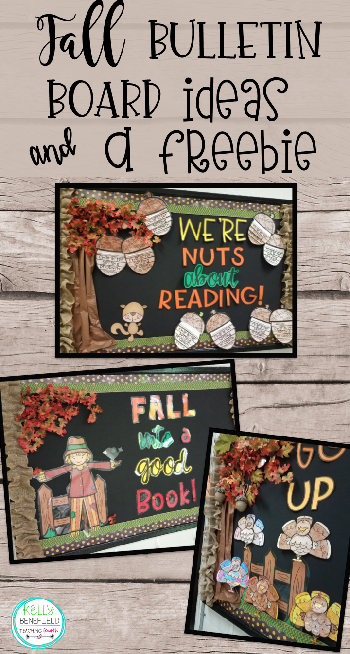 Teaching Fourth Fall Bulletin Board Ideas And A Freebie