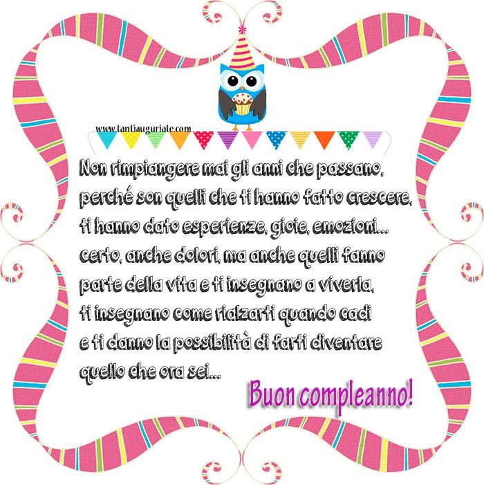 Auguri Compleanno Tre Anni