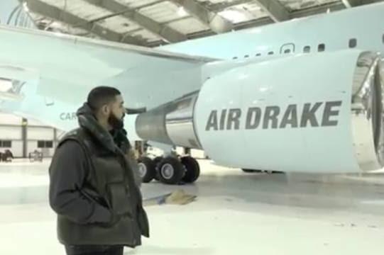 Drake Buys A $350 Million Plane