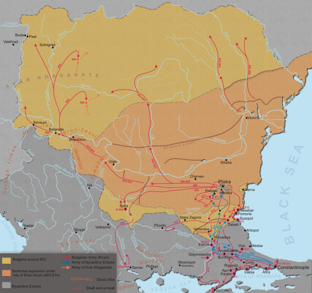 Han Krum map