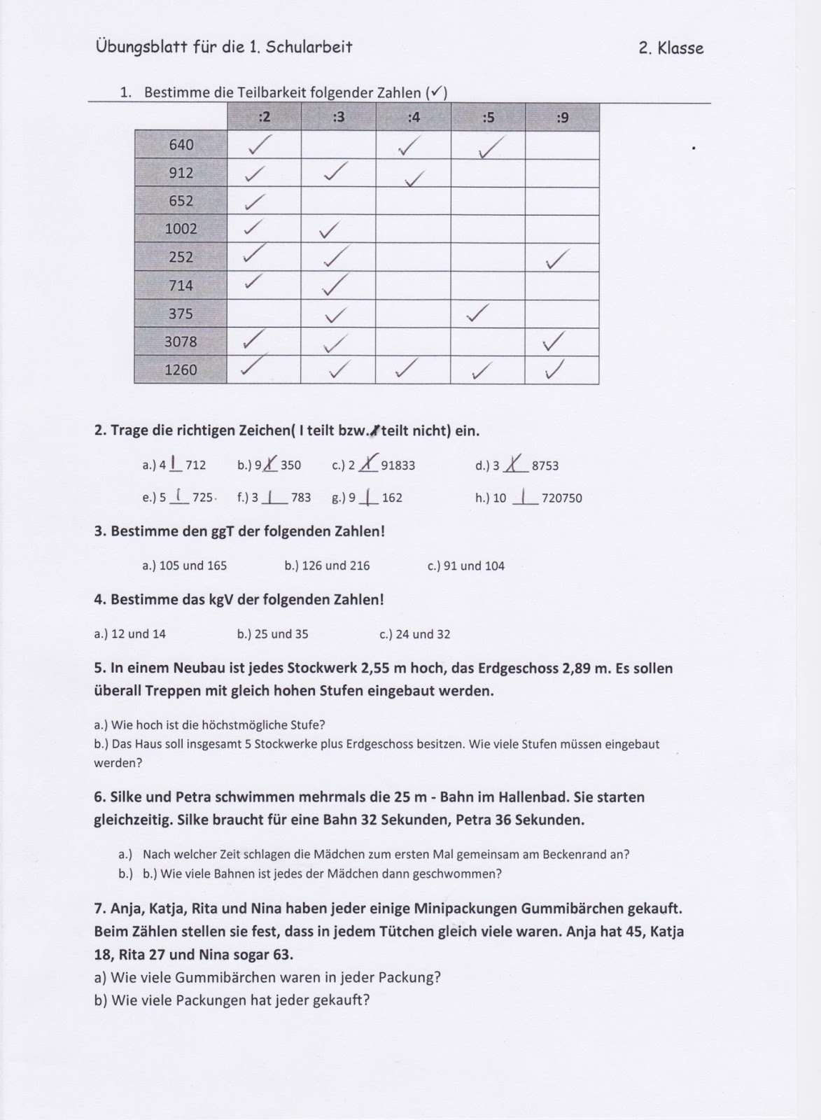 Klassenblog 3c Losung Ubungsblatt
