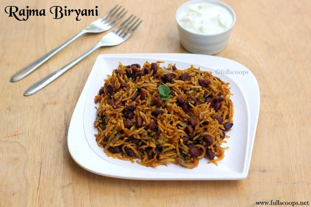 Rajma Biryani