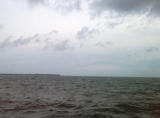 Dihempas Gelombang, Kapal Rimau 3318 Tk, Terdampar Di Pulau, Pasitallu Selayar