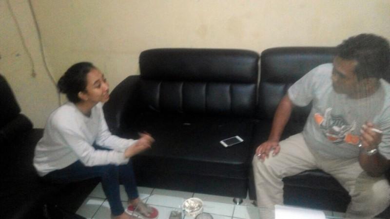 Farhany Ramadhina di Polresta Bogor