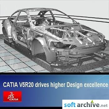 DSS CATIA P2 V5R20 GA (SP0) Win32 free download