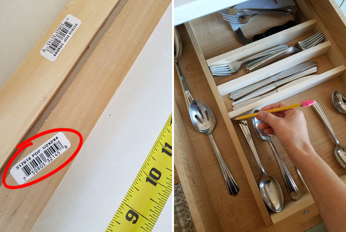 how to make wooden drawer dividers with poplar