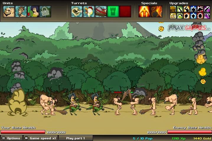 Estratégia e RPG - Jogos Online: Age of War 2