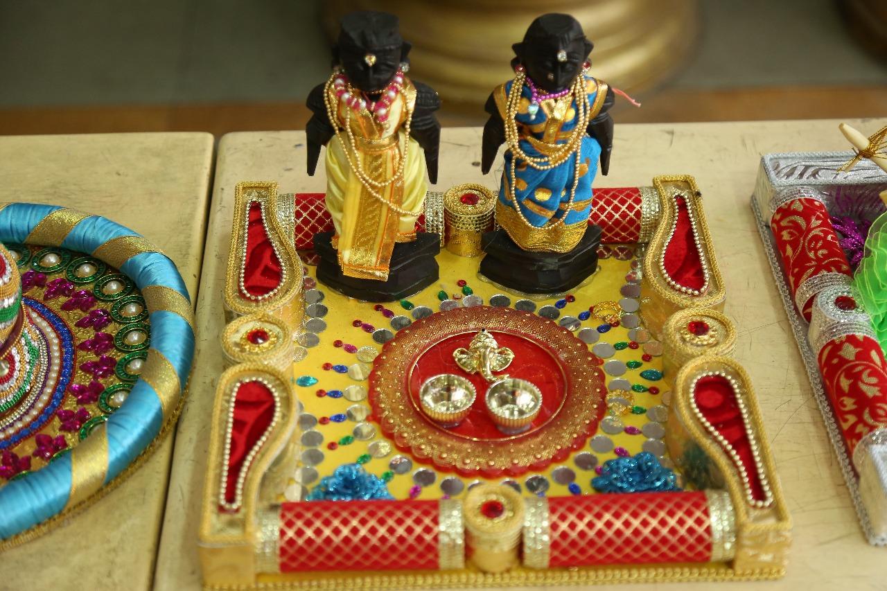 Aarthi plates decoration for wedding decorative aarthi plates for decorative aarthi plates for marriage junglespirit Images