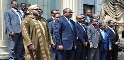 عشاء ملك المغرب في إثيوبيا يفجر الخلافات داخل قمة أفريقيا