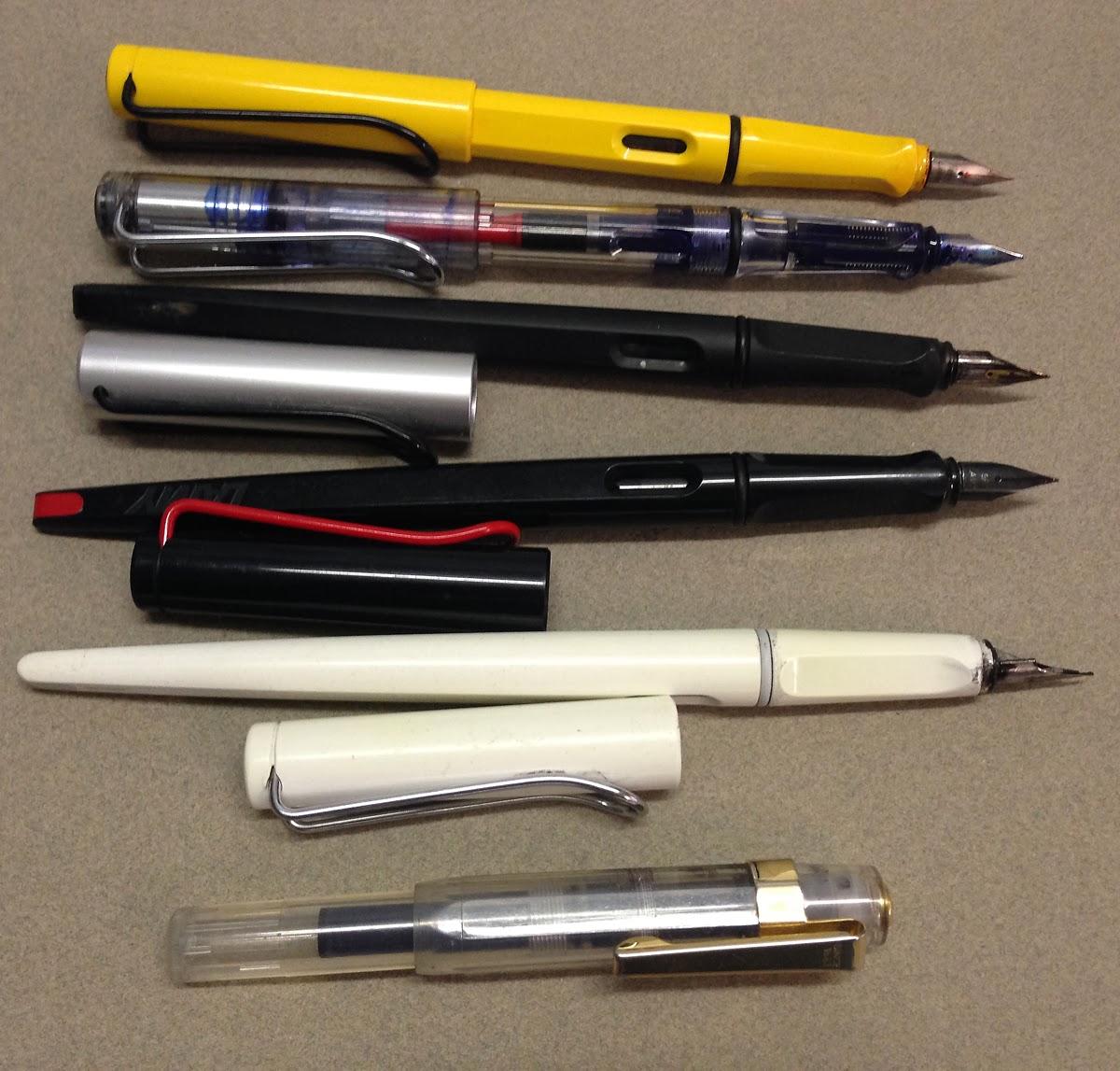 My Lamy Pen Collection Plus A Ring In Liz Steel Liz Steel
